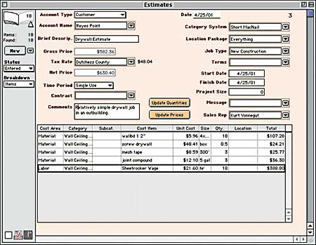 Contractor Estimating Software For Mac